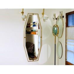 Specchio da Parete - Art. 1215 - Bordo Ottone