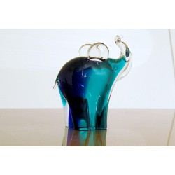Murano Glass Sculpture - V. Nason & C. - Elephant Art. 1820