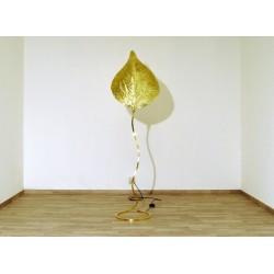 LEAF Floor Lamp Art. 1036 - All Brass - TOMMASO BARBI Style
