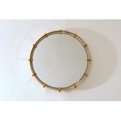 Wall Mirror LED Backlight - Art. 1910 - Brass Edge