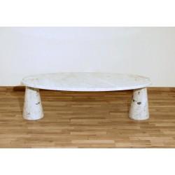 Tavolino in Marmo di Carrara - Art. 1042 - A. Mangiarotti Style