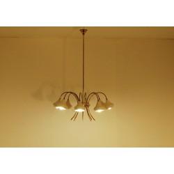 Original Ceiling Lamp Art. 1433 - 8 DIFFUSERS - Brass