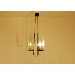 Original Ceiling Lamp Art. 1412 - 3 DIFFUSERS - Brass