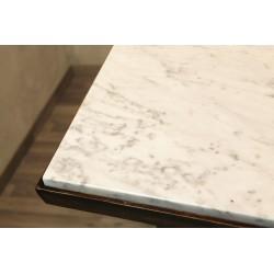 Tavolo originale con piano in marmo - Art. 1964