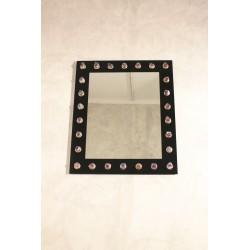 Specchio in opalino nero - Art. 1973