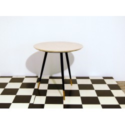 Small Table Art. 1046 - Wood Structure - Marble Top