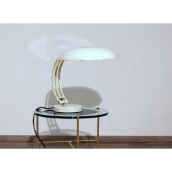 Lampada da Tavolo 1960 - Art. 1087 - Ottone / Metallo - Colore BIANCO