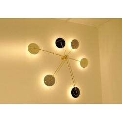 Lampada da Parete / Soffitto Art. 1097 - 6 DIFFUSORI - Ottone