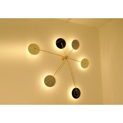 Wall / Ceiling Lamp Art. 1097 - 6 DIFFUSERS - Brass