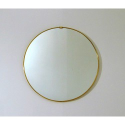 Wall Mirror - Art. 1491 - Brass Edge
