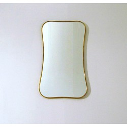 Wall Mirror - Art. 1490 - Brass Edge
