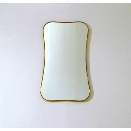 Wall Mirror - Art. 1490 - Brass Edge