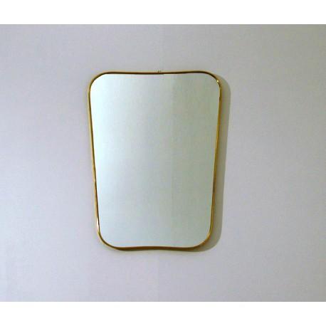 Wall Mirror - Art. 1471 - Brass Edge