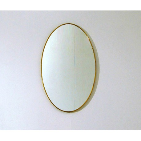 Wall Mirror - Art. 1492 - Brass Edge