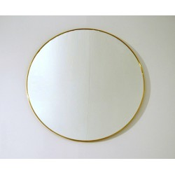 Wall Mirror - Art. 1493 - Brass Edge
