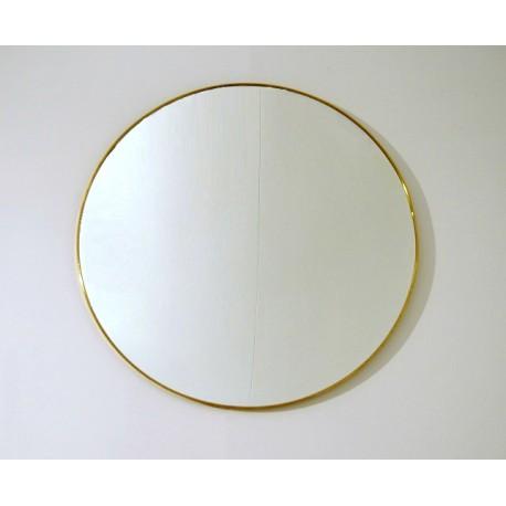 Wall Mirror - Art. 1493 - Brass Edge