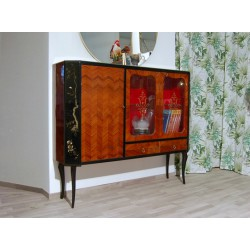 Credenza Originale in Palissandro - 3 Ante - Art. 1570 - Made in Italy 1950