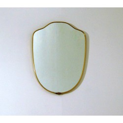 Specchio da Parete - Art. 1494 - Bordo Ottone