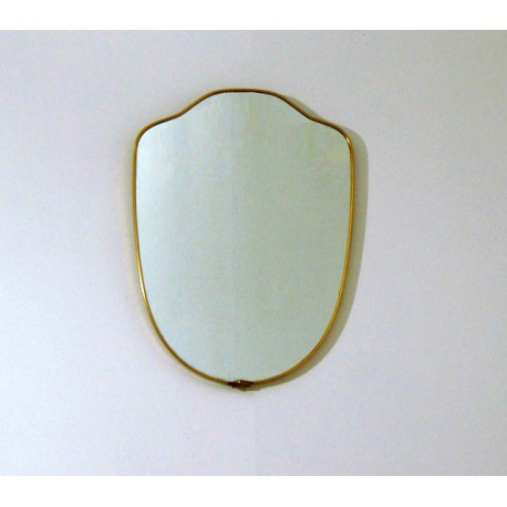 Wall Mirror - Art. 1494 - Brass Edge