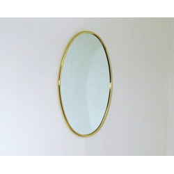 Wall Mirror - Art. 1497 - Brass Edge