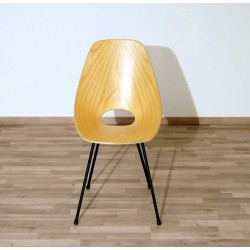Chair in Curved Beech Wood - Art. 1170 - Metal Structure