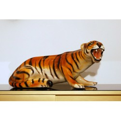 Sculpture in CERAMICS - Art. 1061 TIGER - Italy 1960